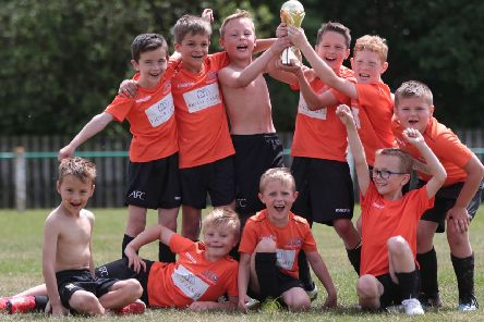 Asfordby FC Under 8s. Picture: Phil James EMN-190529-171512002