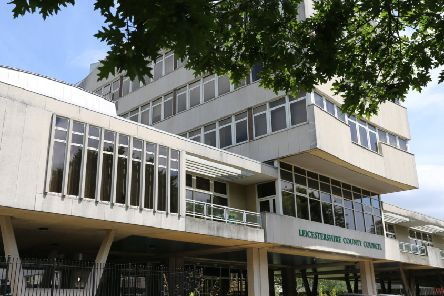 Leicestershire County Council headquarters at Glenfield EMN-190715-100638001