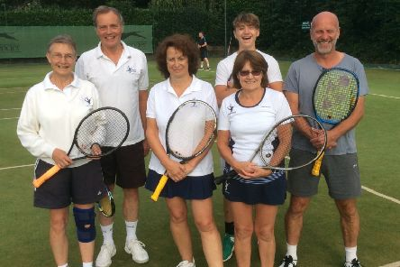 Hamilton's mixed second team were involved in a tight match with Charnwood EMN-190813-171304002