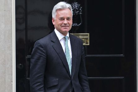 Alan Duncan MP at 10 Downing Street PHOTO: Steve Black EMN-190220-084927001