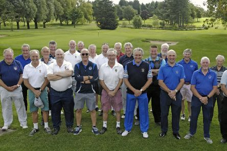 The Melton Golf Club and Tigers Past Players teams EMN-190919-144018002