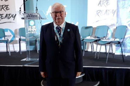 Jim Bennett, who has been withdrawn as the Brexit Party's Prospective Parliamentary Candidate for Rutland & Melton at December's General Election EMN-191211-094550001