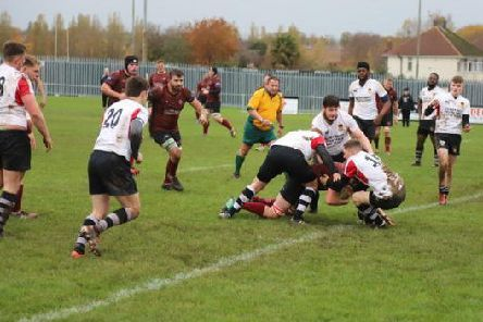 Melton crash over for their third try as they race into a 19-0 lead at Corby EMN-191211-133331002