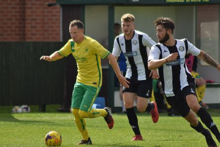 Aaron Black drew Holwell level after the break with his second goal for the club EMN-191211-184757002
