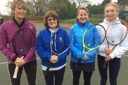 Hamilton Tennis Club's ladies' first team ended their season with a whitewash win EMN-191012-125814002