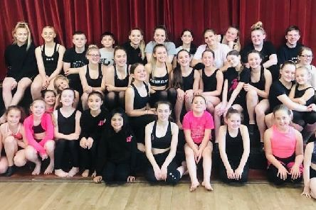 Members of The Starlets School of Performing Arts who are raising money to take to the stage on New York's Broadway EMN-200121-152326001