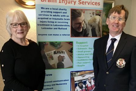 Melton Golf Club's captains, John Harvey and Jackie Fisher, announce they will back the Headway Leicestershire, Leicester and Rutland charity for the coming year EMN-200129-162402001