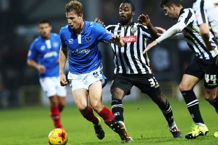 Adam Webster developed into a fantastic player during his time at Pompey. Picture: Joe Pepler