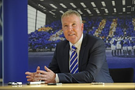 Kenny Jackett speaks to the media during his first press conference at Pompey manager. Picture Ian Hargreaves