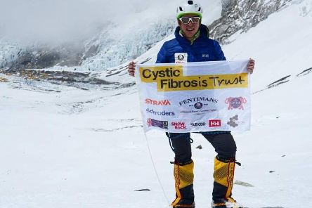 Rupert Jones-Warner reached the first summit on Thursday, May 17