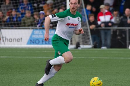 Keaton Wood back in action for the Rocks - pictured at Margate / Picture by Tommy McMillan