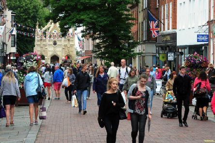 Chichester's East Street. Photo: Kate Shemilt