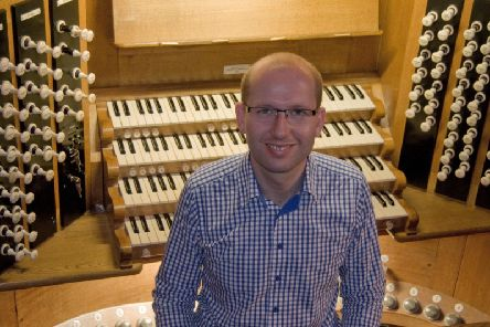 Charles Harrison, Chichester Cathedral organist and master of the choristers