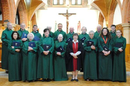The church choir