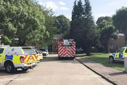 Chichester house fire