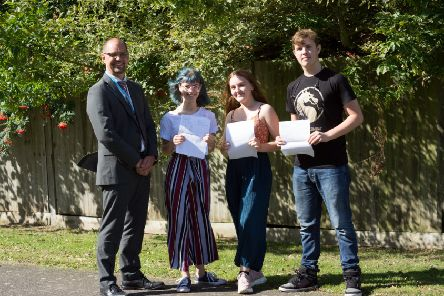 GCSE results day at Ormiston Six Villages Academy