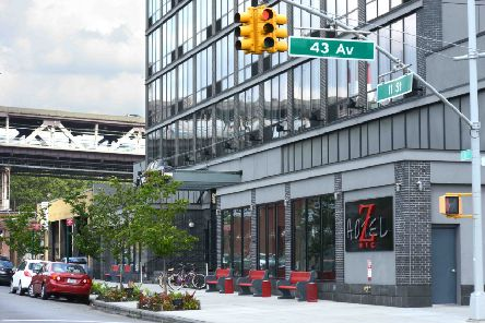 The Z Hotel in Queens, NY. 7/29/2013 Photo by �Jennifer S. Altman 2013 All Rights Reserved. SUS-171123-125411001
