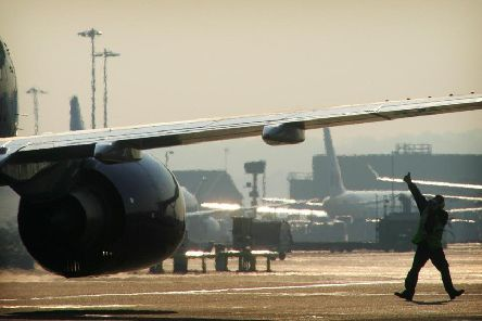 Gatwick Airport's airfield