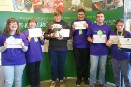 Woodland Meed students won first place at Jim Green Challenge