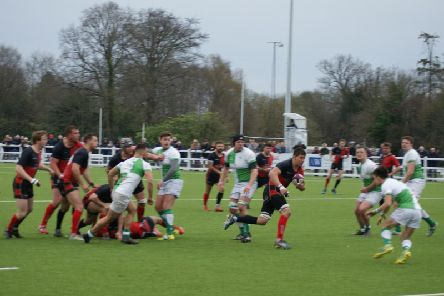 Josh Salisbury breached the Horsham defence to score but couldn't prevent Heath losing away at Horsham