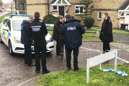 Police investigating the killing last year