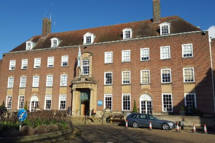 County Hall in Chichester