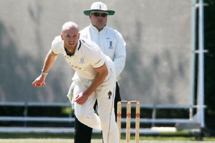 Lewis Hatchett took three wickets for East Grinstead