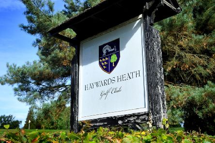 Residents campaign against development at Haywards Heath Golf Club. . Pic Steve Robards SR1823893 SUS-181009-221311001