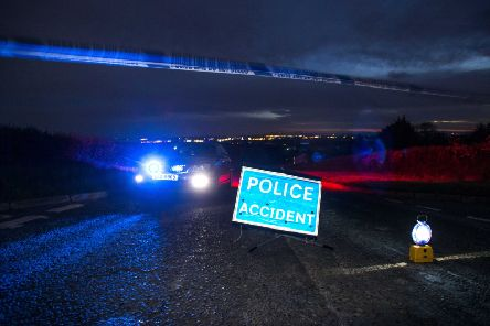 The scene of the fatal RTC on the Roguery Road near Toomebridge which claimed the life of Calvin Dripps. Pic: Steven McAuley/McAuley Multimedia