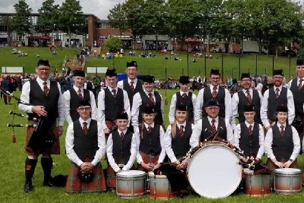 World Champions Tullylagan Pipe Band