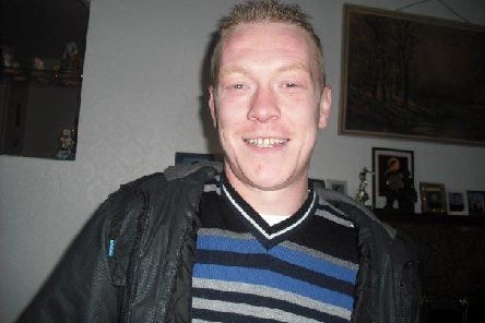 Sean Murray who was buried in Magherafelt today.