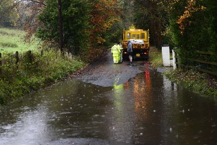 File image: Flooded roads accross Northern Ireland.' Picture By: Arthur Allison/ Pacemaker.