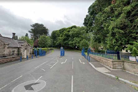 Outside Cookstown High School  Photo courtesy of Google