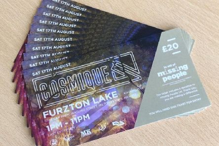 The festival tickets