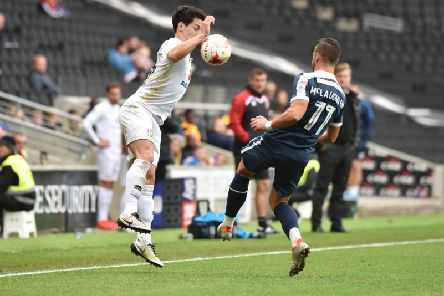 George Williams in action against Southend in 2016