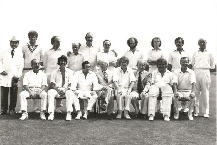 The famous faces of the Lord Taverner's XI