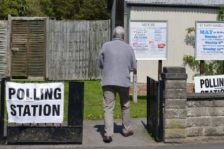A voter visits a polling station at a church (Photo: Shutterstock)