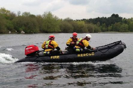 The Water Rescue boat