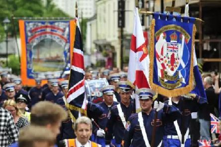 The Orange Order have cancelled a planned walk after a dispute over the route. Picture: Johnston Press