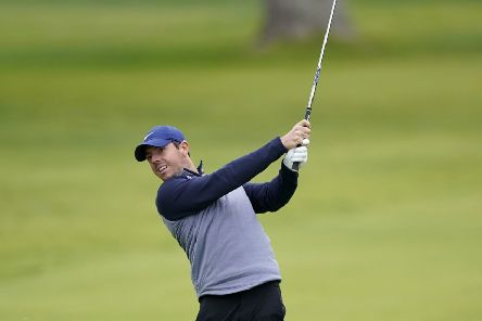 Rory McIlroy during his final round