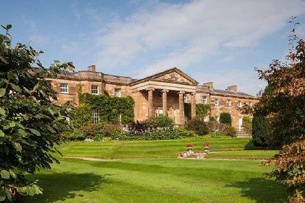 Undated handout photo issued by Heritage Lottery Fund NI of Hillsborough Castle in County Down, the Queen's official residence in Northern Ireland, as art will be unveiled to the public for the first time this week when Hillsborough Castle opens to the public.