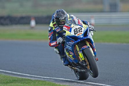 Derek Sheils has been the man to beat at the Cookstown 100 in recent years in the Superbike class. Sheils will ride the new-look Burrows Engineering/RK Racing Suzuki. Picture: Baylon McCaughey.