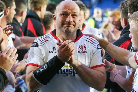 Rory Best after his final game on duty after the PRO14 Semi-Final between Glasgow vs Ulster at Scotstoun