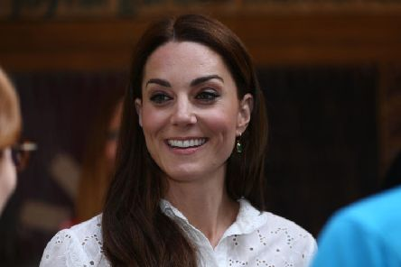 The Duchess of Cambridge at the RHS Chelsea Flower Show at the Royal Hospital Chelsea, London.
