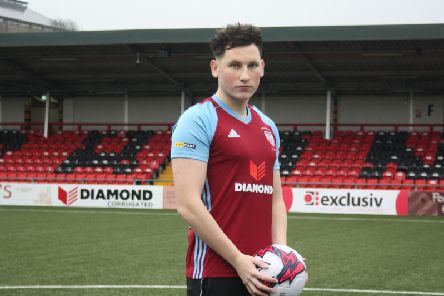 Derry City defender is excited about his loan move to Cliftonville as he lines up against his parent club in a friendly fixture at Brandywell tonight.