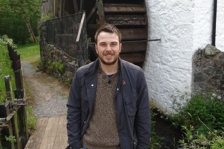 Sebastian Graham, a 27-year-old Queen's student who is studying for a masters in history
