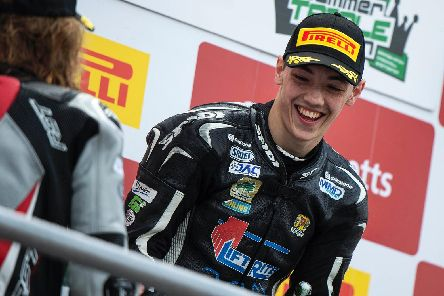Eunan McGlinchey is one of Northern Ireland motorcycling's brightest prospects. Picture: James McCann.