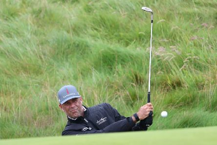 USA's Tom Lehman at Royal Portrush Golf Club last week for  The Open Championship 2019. Aged 60, this was his last year of automatic qualification, based upon his past victory at The Open. Photo: Richard Sellers/PA Wire The Open Championship website is TheOpen.com