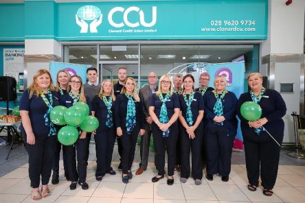CCU staff members at the new park centre branch opening