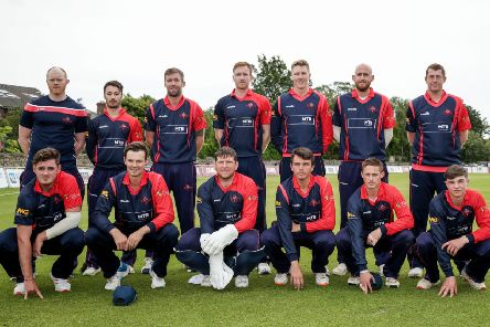Northern Knights before play in June. Pic by INPHO.
